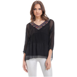 Clothing Women Tops / Blouses Laura Moretti Blouse PHILA Black F Black