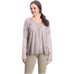 Clothing Women Tops / Blouses Laura Moretti Pullover DAPHNY Pink Woman Autumn/Winter Collection Pink