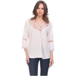 Clothing Women Tops / Blouses Laura Moretti Blouse NOLA Off white F Off white