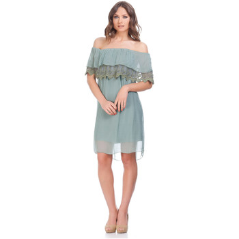 Clothing Women Dresses Laura Moretti Dress NIRVY Green F Green