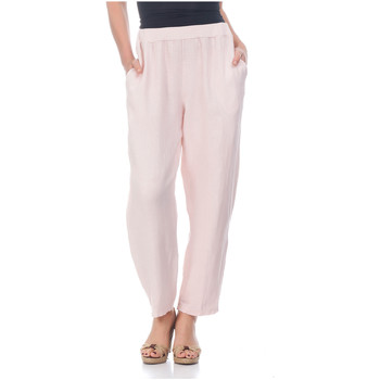 Clothing Women Trousers Laura Moretti Trousers NORMA Pink F Pink