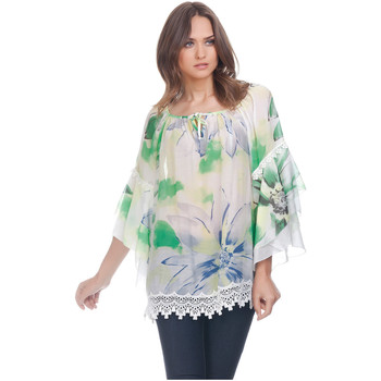 Clothing Women Tops / Blouses Laura Moretti Blouse ZALIA Green F Green