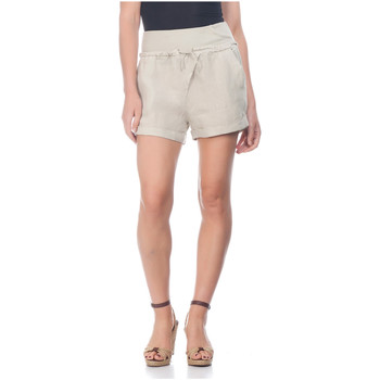 Clothing Women Shorts / Bermudas Laura Moretti Shorts ZAYN Beige F Beige