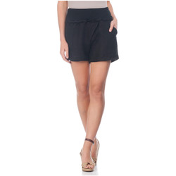 Clothing Women Shorts / Bermudas Laura Moretti Shorts ZAYN Black F Black