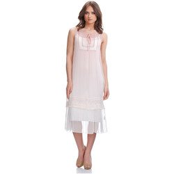 Clothing Women Dresses Laura Moretti Dress ZELL Pink Woman Autumn/Winter Collection Pink