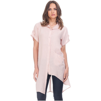 Clothing Women Shirts Laura Moretti Shirt YOANA Pink F Pink
