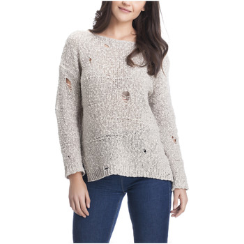 Clothing Women Tops / Blouses Laura Moretti Pullover TAMIKA Blue Woman Autumn/Winter Collection Blue