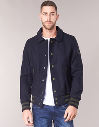Clothing Men Jackets Serge Blanco SERGE Marine