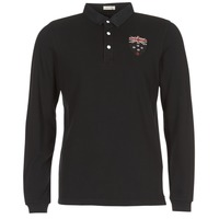 Clothing Men Long-sleeved polo shirts Serge Blanco POLO NEW ZEALAND Black