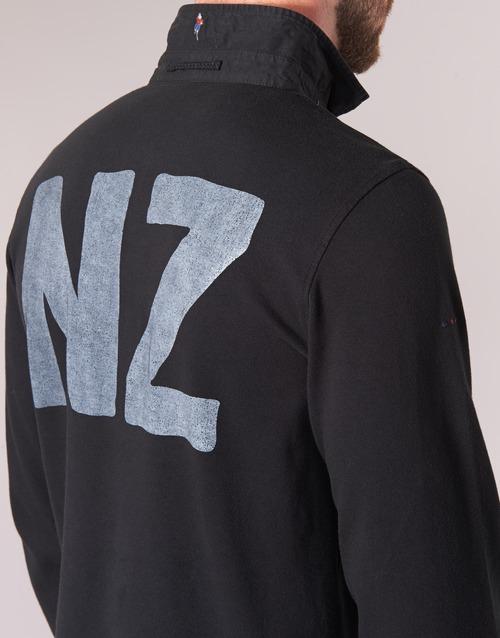 Blanco ZEALAND Serge POLO NEW Black BwC4fOqxd