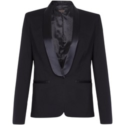 Clothing Women Jackets / Blazers Anastasia EX Next-Black Womens Tuxedo Jacket Black