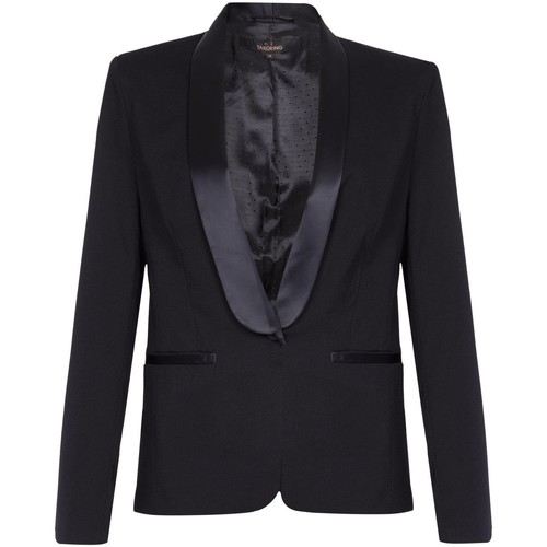Clothing Women Jackets / Blazers Anastasia Tuxedo Jacket Black