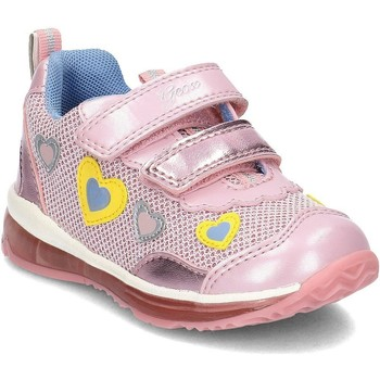 Shoes Children Mid boots Geox Baby Todo Pink