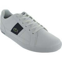 Shoes Men Low top trainers Lacoste Europa 118 White/Navy
