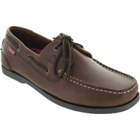 Shoes Men Boat shoes Chatham Galley 2 Dark Brown
