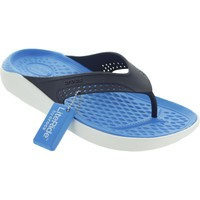 Shoes Men Sandals Crocs LiteRide Flip Navy/White