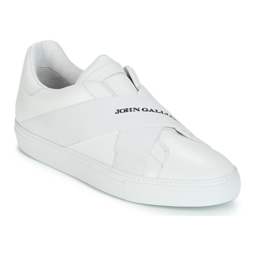 Shoes Men Low top trainers John Galliano ROBOT A White