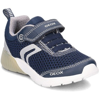 Shoes Children Mid boots Geox Junior Sveth Navy blue
