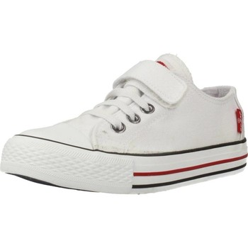 Shoes Children Low top trainers Levi's TRUCKER ELASTIC White