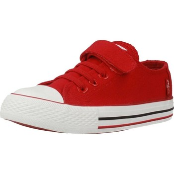 Shoes Children Low top trainers Levi's TRUCKER ELASTIC Red