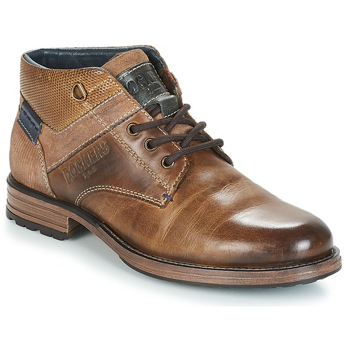 Shoes Men Mid boots Dockers by Gerli UROUA Brown