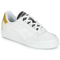 Shoes Women Low top trainers Diadora B.ELITE WN White / Gold
