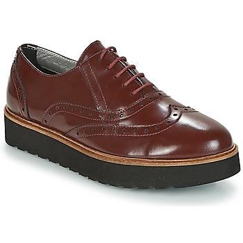 Shoes Women Derby Shoes Ippon Vintage ANDY THICK Bordeaux