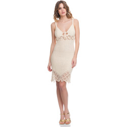 Clothing Women Dresses Laura Moretti Dress LRCP8N1003 Beige Woman Spring/Summer Collection 2018 Beige