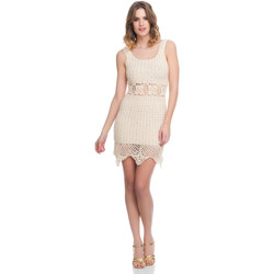 Clothing Women Dresses Laura Moretti Dress LRCP8N1016 Beige Woman Spring/Summer Collection 2018 Beige