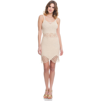 Clothing Women Dresses Laura Moretti Dress LRCP8N1019 Beige F Beige