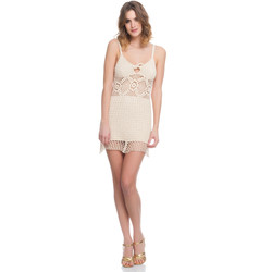 Clothing Women Dresses Laura Moretti Dress LRCP8N1023 Beige F Beige