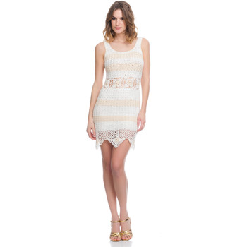 Clothing Women Dresses Laura Moretti Dress LRCP8N1026 Beige Woman Spring/Summer Collection 2018 Beige