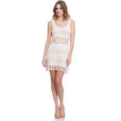 Clothing Women Dresses Laura Moretti Dress LRCP8N1028 Beige Woman Spring/Summer Collection 2018 Beige