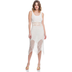 Clothing Women Dresses Laura Moretti Dress LRCP8N1034 White Woman Spring/Summer Collection 2018 White