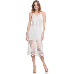 Clothing Women Dresses Laura Moretti Dress LRCP8N1036 White Woman Spring/Summer Collection 2018 White