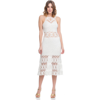 Clothing Women Dresses Laura Moretti Dress LRCP8N1037 White F White