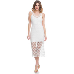 Clothing Women Dresses Laura Moretti Dress LRCP8N1039 White F White