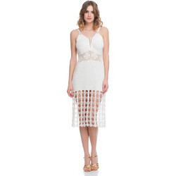 Clothing Women Dresses Laura Moretti Dress LRCP8N1040 White F White