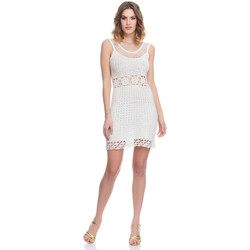 Clothing Women Dresses Laura Moretti Dress LRCP8N1042 White F White