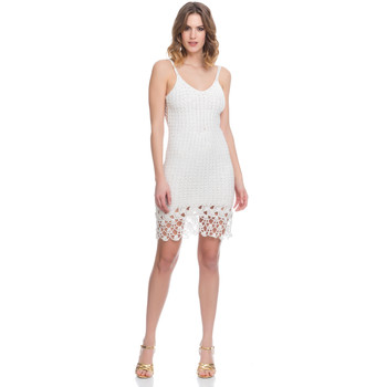 Clothing Women Dresses Laura Moretti Dress LRCP8N1043 White F White