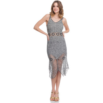 Clothing Women Dresses Laura Moretti Dress LRCP8N1049 Grey Woman Spring/Summer Collection 2018 Grey