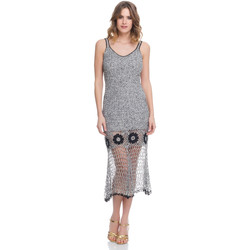 Clothing Women Dresses Laura Moretti Dress LRCP8N1054 Grey Woman Spring/Summer Collection 2018 Grey