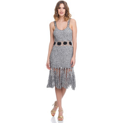 Clothing Women Dresses Laura Moretti Dress LRCP8N1055 Grey F Grey