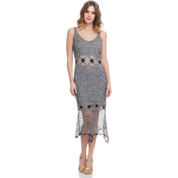 Clothing Women Dresses Laura Moretti Dress LRCP8N1056 Grey Woman Spring/Summer Collection 2018 Grey