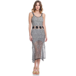 Clothing Women Dresses Laura Moretti Dress LRCP8N1058 Grey F Grey