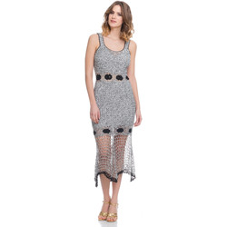 Clothing Women Dresses Laura Moretti Dress LRCP8N1059 Grey F Grey