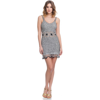 Clothing Women Dresses Laura Moretti Dress LRCP8N1065 Grey Woman Spring/Summer Collection 2018 Grey