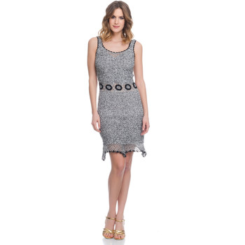 Clothing Women Dresses Laura Moretti Dress LRCP8N1070 Grey Woman Spring/Summer Collection 2018 Grey