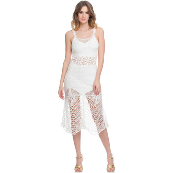 Clothing Women Dresses Laura Moretti Dress LRCP8N1074 White F White