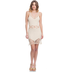 Clothing Women Dresses Laura Moretti Dress LRCP8N1075 Beige Woman Spring/Summer Collection 2018 Beige